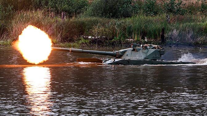 В России разрабатывают новый легкий плавающий танк