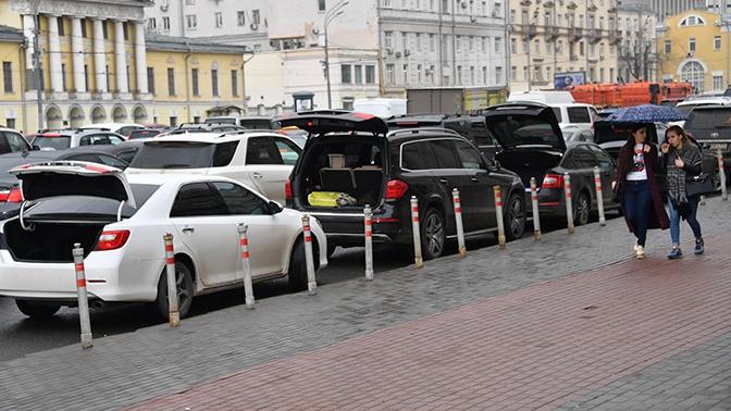 Москва встала в 8-балльных пробках из-за дождей
