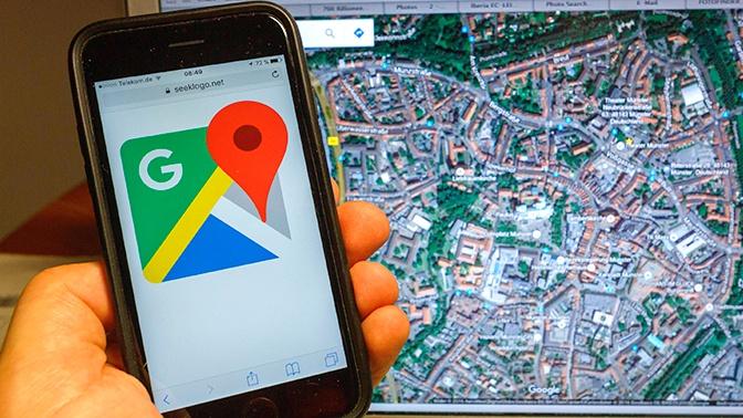 Пользователи Google Maps сообщают о сбоях в работе сервиса