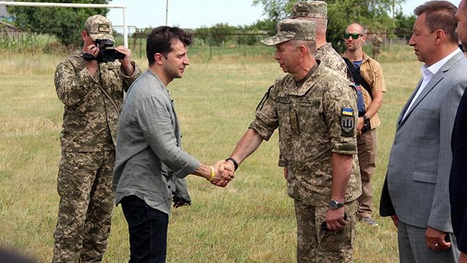 Зеленский и Туск посетили Донбасс