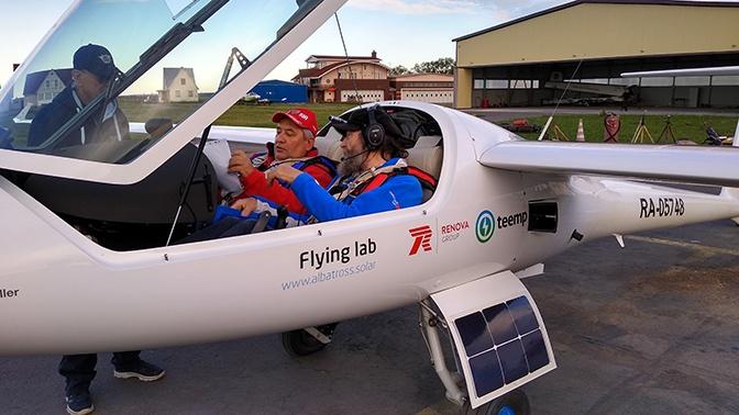 Федор Конюхов пролетит через всю Россию на экспериментальном самолете