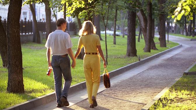 Названы самые романтичные места Москвы