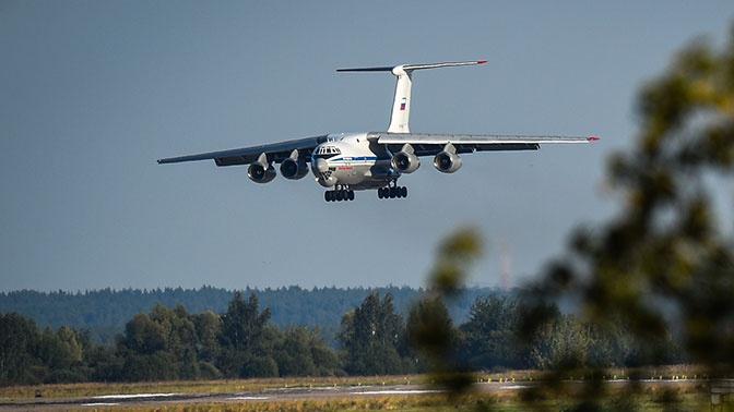 Десятки Ил-76 перебазировали на оперативные аэродромы