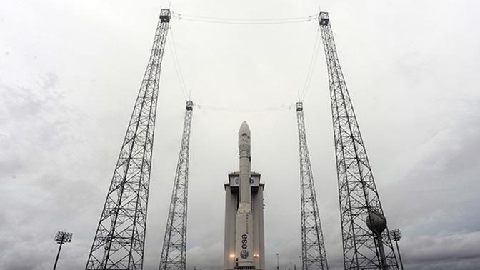 Запуск ракеты со спутником ОАЭ в Гвиане завершился неудачей