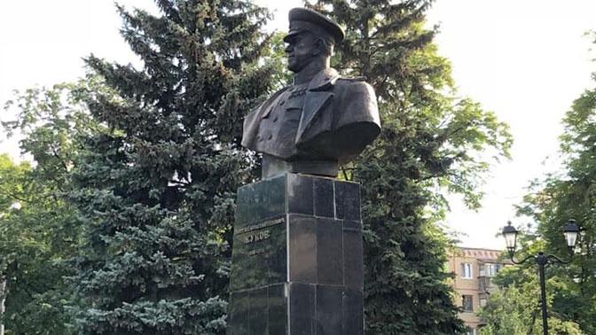 После установки бюста Жукова в Харькове ГПУ попросили возбудить дело