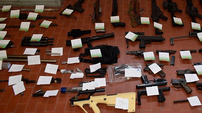 ANSA: оружие для наемников в Донбассе конфисковали в Италии