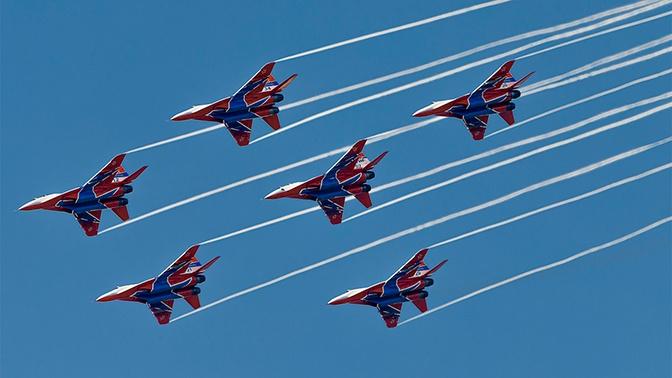 «Стрижи» и «Соколы России» проведут авиашоу в трех городах