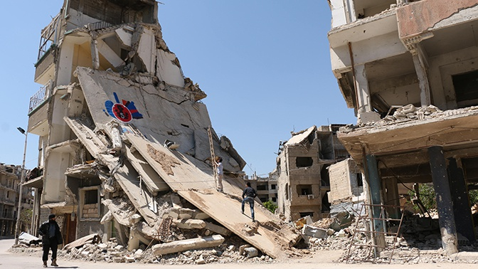 Боевики нанесли удары по сирийским Латакии, Хаме и Алеппо