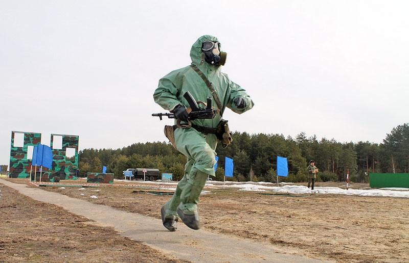 Военно-спортивный этап конкурса «Воин мира» – «Атлет».
