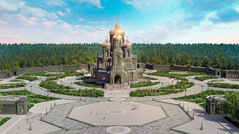 Главный храм Вооружённых сил, и «Дорога памяти» будут достроены к 75-летию Победы.