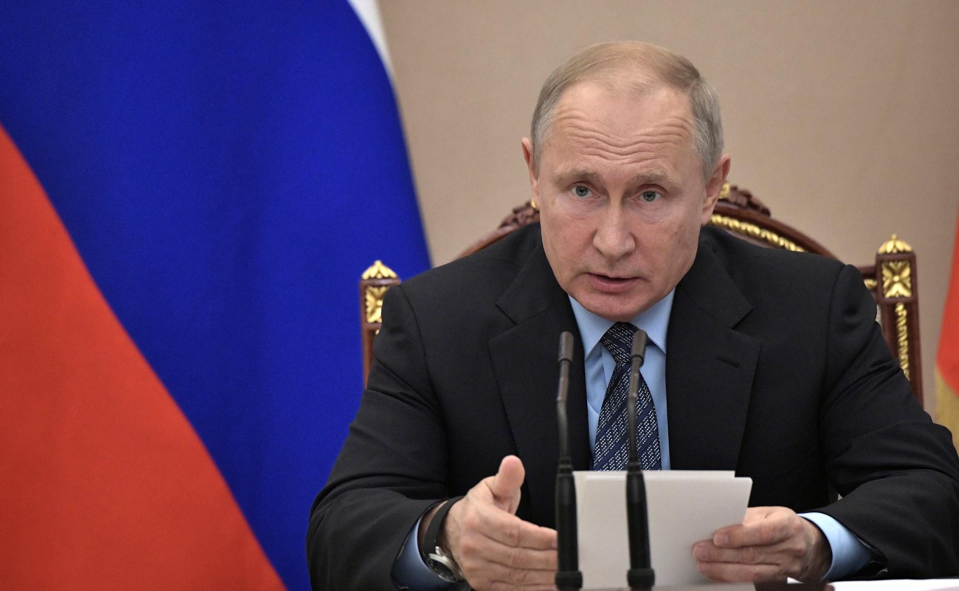 Путин назвал единственный способ урегулирования конфликта в Донбассе
