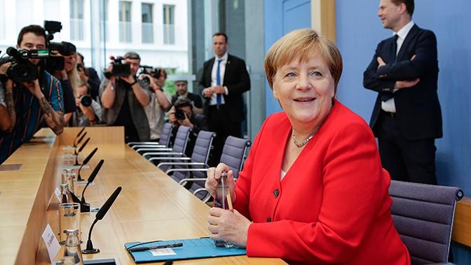 Меркель отреагировала на интерес к своему здоровью