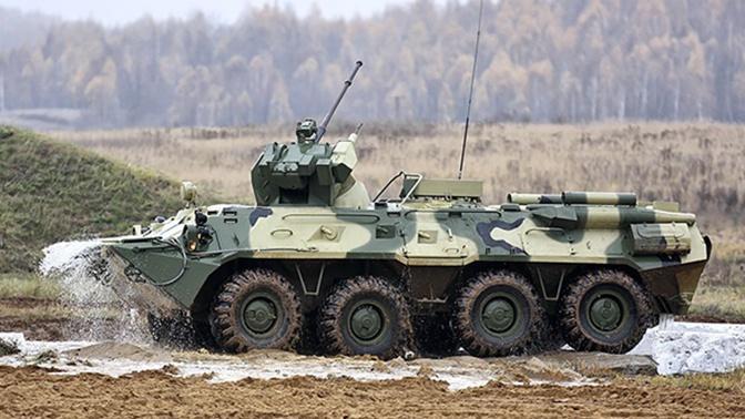 БТР-82 получил защиту от кумулятивных боеприпасов