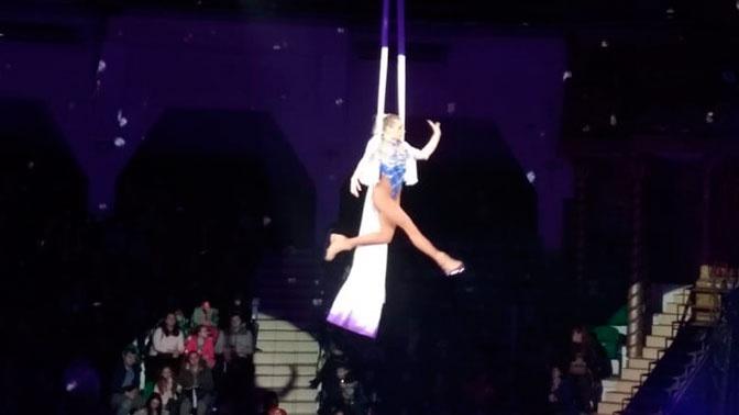 В Москве гимнастка сорвалась с высоты