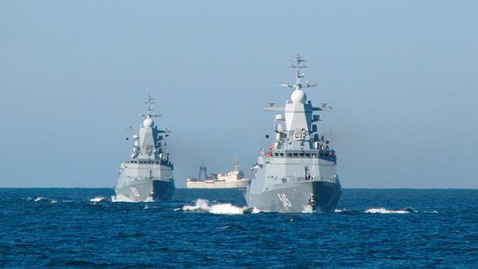 «Океанский щит - 2019»: масштабные учения стартовали на Балтике