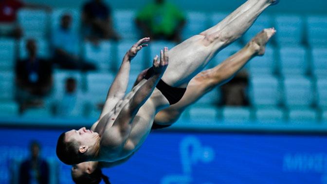 Сборная России взяла серебро на ЧЕ по прыжкам в воду