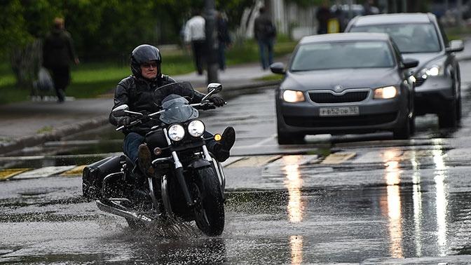 Установлены главные причины ДТП с мотоциклистами в Москве