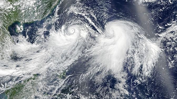 В Приморье объявили штормовое предупреждение из-за тайфуна «Лекима»