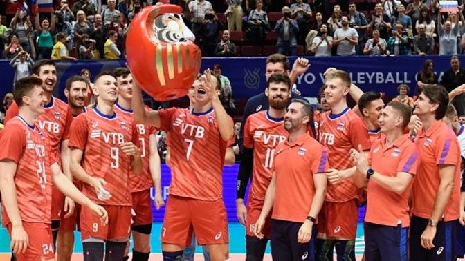 Мужская сборная РФ по волейболу выиграла путевку на Олимпиаду-2020