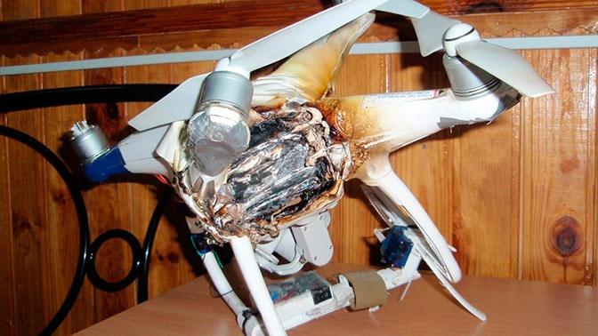 В ДНР сбили ударный украинский дрон с гранатой