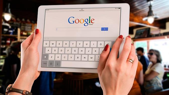 Поисковая система Google работает со сбоями