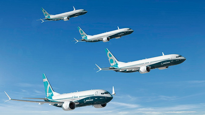 Поставки самолетов Boeing сократились на 38%