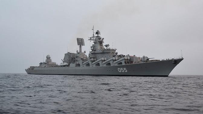 Российский ракетный крейсер зашел в пролив Ла-Манш