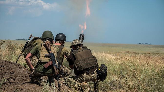 ВСУ обстреляли Горловку из минометов