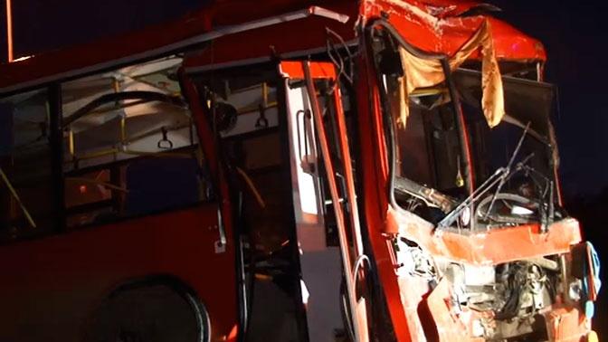 Прокуратура проверит перевозчика, которому принадлежит въехавший в стену в Перми автобус