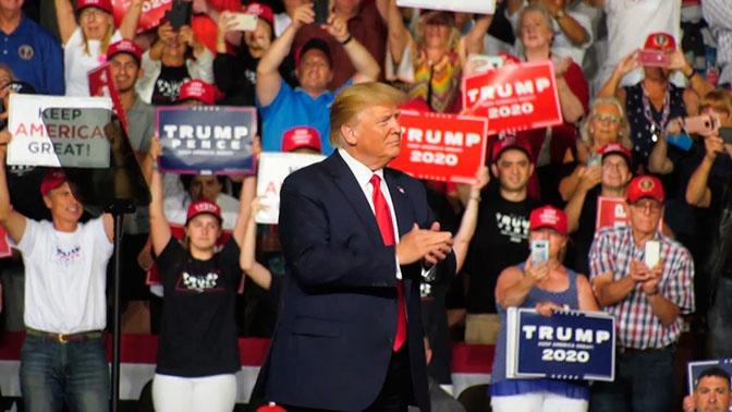 «Иди отсюда»: Трамп попал в неловкую ситуацию во время выступления