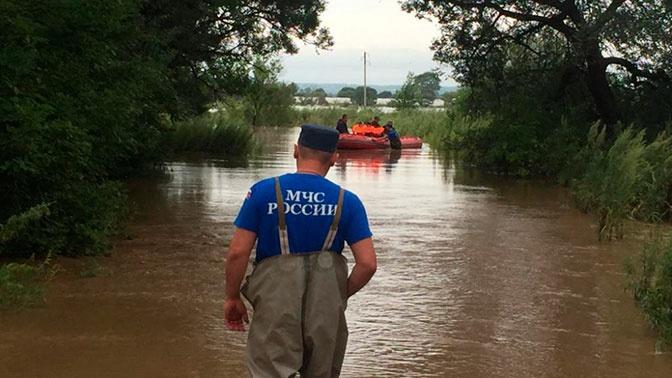 В Приморье развернули пункты временного размещения из-за супертайфуна «Кроса»
