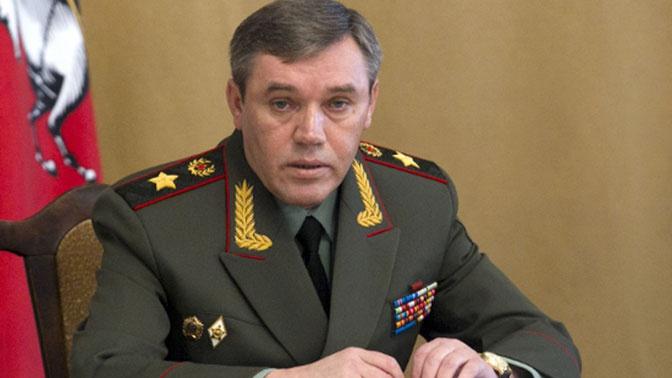 Начальник Генштаба ВС РФ прибыл в Таджикистан