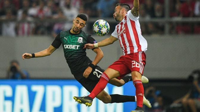 «Краснодар» проиграл «Олимпиакосу» в квалификации Лиги чемпионов