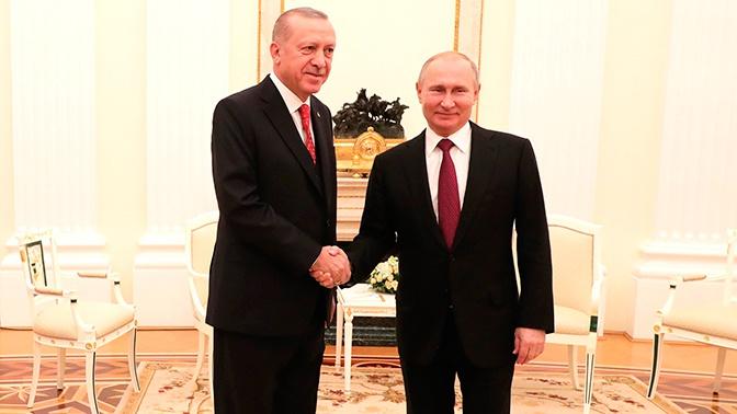 В Кремле подтвердили встречу Путина и Эрдогана