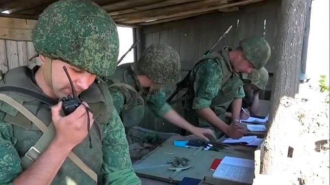 Милиция ЛНР сбила украинский беспилотник «Фантом»