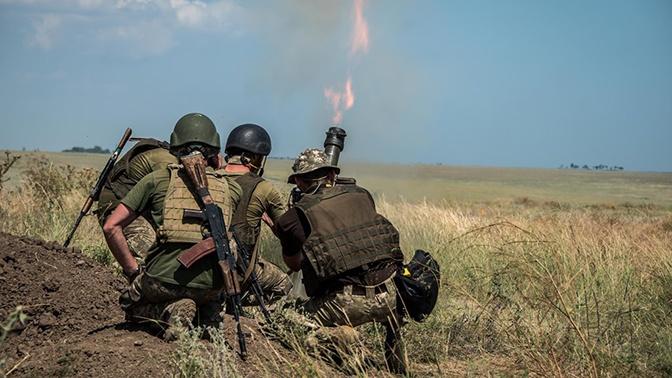 ВСУ обстреляли Горловку из минометов и пулеметов