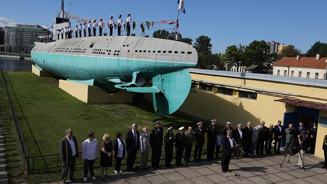 Главком ВМФ РФ поздравил сотрудников музея подводной лодки Д-2 с двойным юбилеем