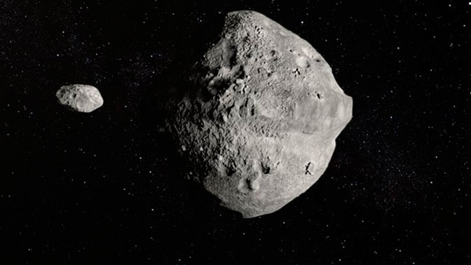 Два огромных астероида подлетят к Земле в один день