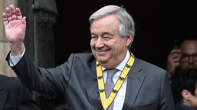 Генсека ООН пригласили в Москву на празднование 75-летия Победы