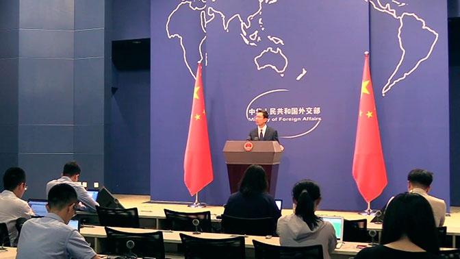 Посол КНР обвинил США во вмешательстве в отношения Пекина и Киева