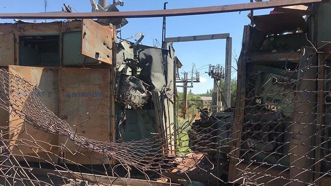 Украинская армия обстреляла из БТР населенные пункты на юге ДНР