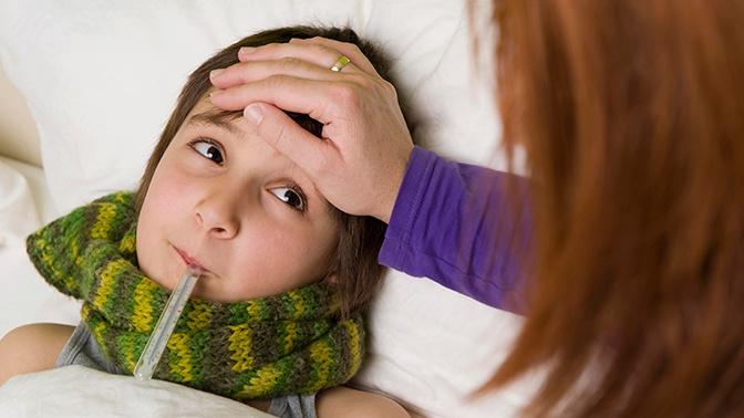 Роспотребнадзор дал рекомендации, как защитить ребенка от гриппа