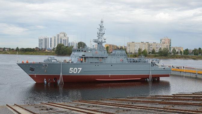 «Александр Обухов» прошел сервисное обслуживание в Санкт-Петербурге
