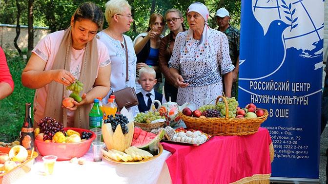 Православные отметили Яблочный Спас в Оше