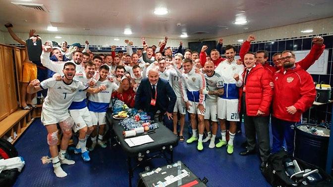 «Команда проявила характер»: Черчесов о победе России над Шотландией