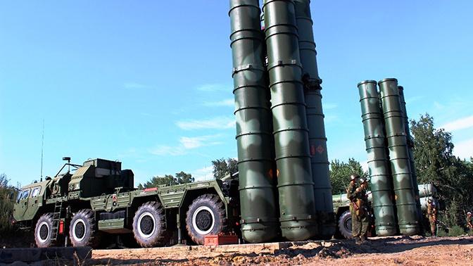 Новый комплекс С-400 «Триумф» передан Минобороны РФ