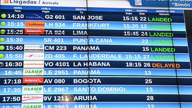 Венесуэла запустит прямое авиасообщение между Москвой и Каракасом