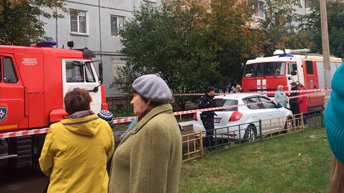 В жилом доме в Красноярске произошел взрыв