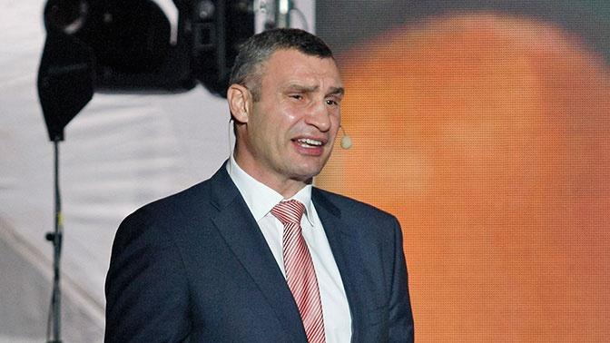 На Украине хотят упразднить должность Кличко