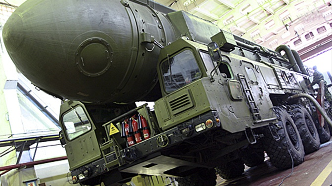 Ракетные полки ПГРК «Тополь» провели командно-штабные учения под Кировом